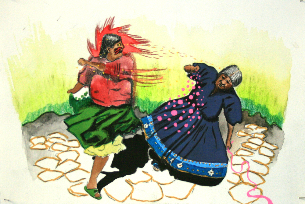 fighting cholitas